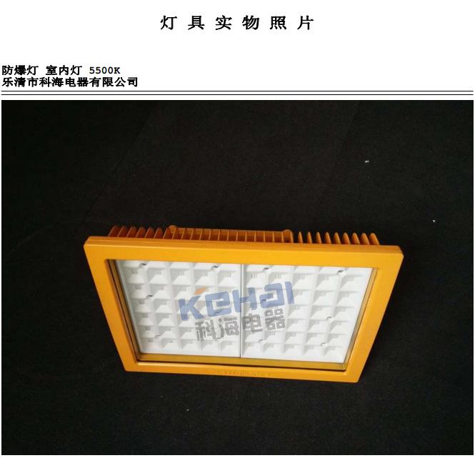 科海BLED/150W LED防爆灯分布光度计测试报告